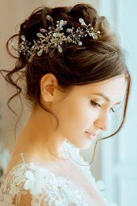 wedding hair at Amour hair salon Manchester