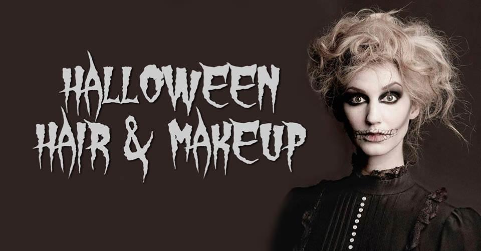 Halloween Hair & Makeup Package
