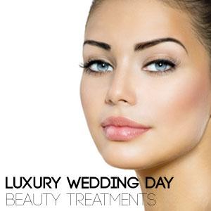 Luxury Wedding Day Beauty Treatments