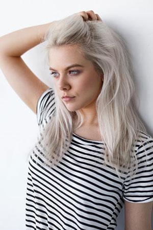 Platinum Blonde Hair Trends