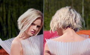 Wella-ice blonde hair colour at amour hair salon