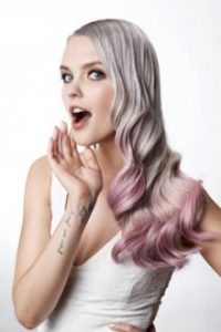 balayage pastel hair colour at amour hair salon