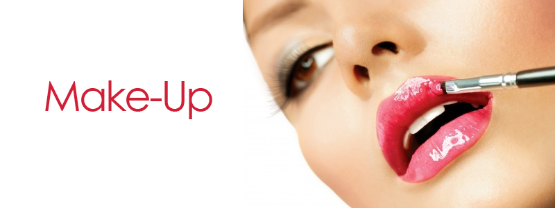 make-up-application at amour hair salon salford