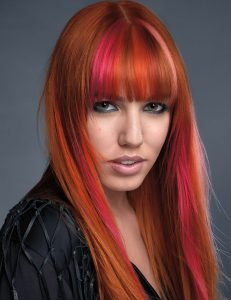 Balayage hair colour at amour hair salon in salford