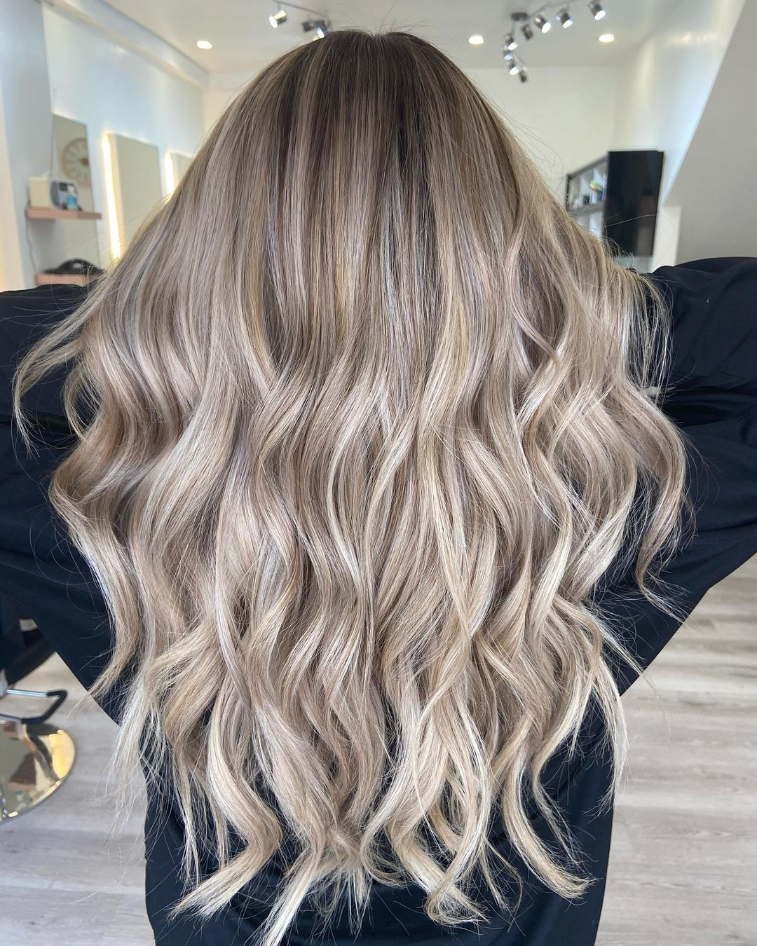 balayage hair colour at amour hairdressers in Salford Manchester