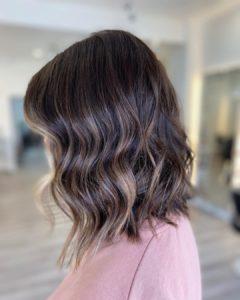 covering grey hair at amour hair salon salford