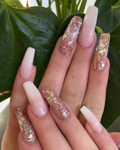 Gel Nails at Amour beauty salon in Salford, Manchester