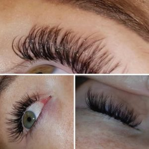 hd lashes at top beauty salon in salford - amour