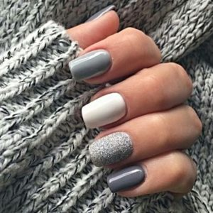 gel nails at amour hair and beauty salon in Salford