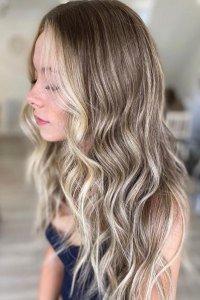 blonde money peice colour amour hair salon Manchester