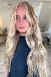 face frame money peice hair colouring at Amour hairdressing, Greater Manchester